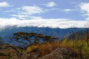 Die Anden in Südkolumbien sind gewaltig