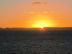 Abschiedsgruß von der Baja California