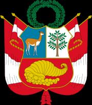 Wappen Perus