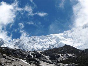 Gletscher über der Laguna 69