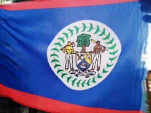 Die Fahne von Belize