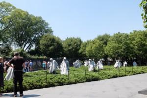 Denkmal für den Koreakrieg