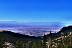 Blick nach Westen ins Bighorn Basin