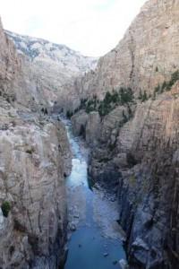 Gorge des Shoshonen River
