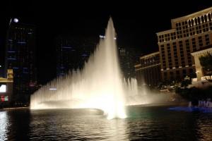 Wasserspiele am Casino Bell Agio