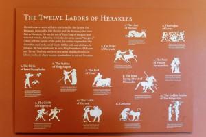 Die zwölf Taten des Herakles
