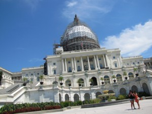 Capitol in D.C. von Westen
