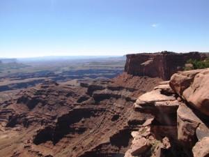 Blick über den Canyon des Colorado River
