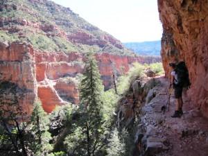 Navajo Sandstein im Bright Angel Canyon