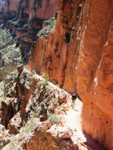 Gert im Bright Angel Canyon
