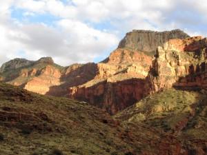 Abendsonne im Bright Angel Canyon