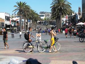 Strandpromenade in LA