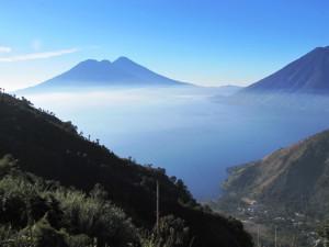Morgenstimmung am Lago Atitlan