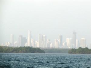 Skyline des modernen Cartagena