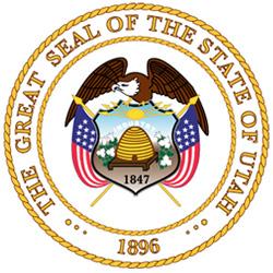 Wappen des Staates Utah